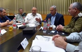 الكابينيت قادة الاحتلال