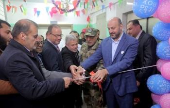 افتتاح مركز طبي شمال القطاع