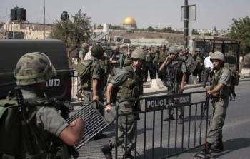 اغلاق الاقصى اجراءات مشددة القدس حواجز