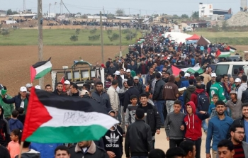 مسيرات العودة العودة مخيم مخيمات