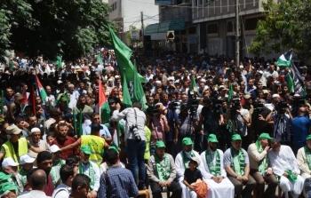 مسيرات حماس الضم مقاومة