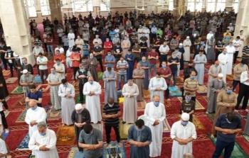 مساجد غزة فتح المساجد كورونا