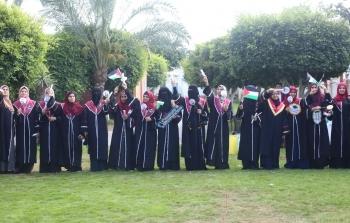 احتفال خريجات كلية الدعوة كورونا